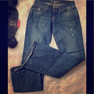 Abercrombie & Fitch bootleg jeans